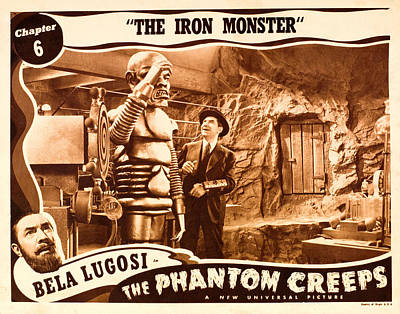 The Phantom Creeps, Chapter 6 The Iron Art Print