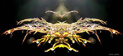 Phoenix Mixed Media - The Phoenix by Heinz G Mielke