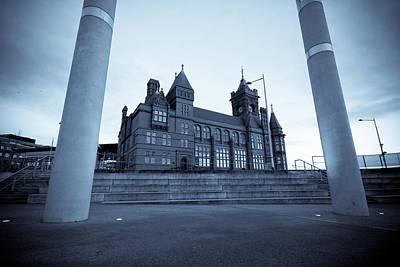 Cardiff Photograph - The Pier Head Building Cardiff Bay by Geraint Rowland