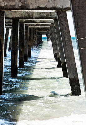 Photograph - The Pier by Michelle Wiarda