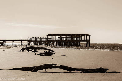 Photograph - The Pier by Shannon Harrington