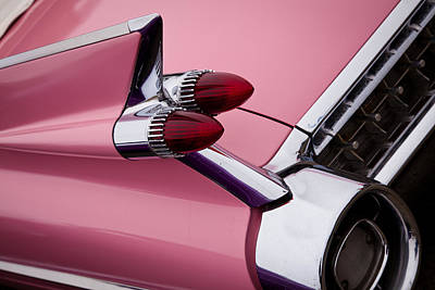 Cadillacs Photograph - The Pink Cadillac by David Patterson