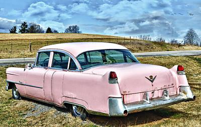 The Pink Cadillac IIi Art Print