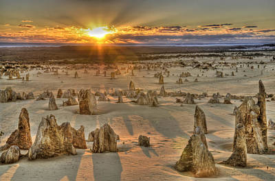 Photograph - The Pinnacles by Geraldine Alexander