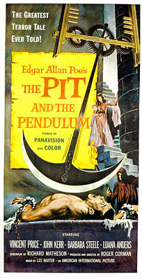 The Pit And The Pendulum,  Barbara Art Print by Everett