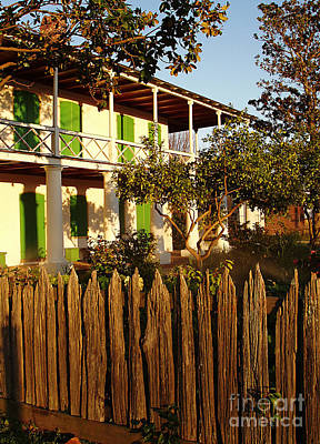 Art Print featuring the photograph The Pitot House With Wood Fence by Jeanne  Woods