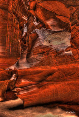 The Place Where Water Runs Through Rocks Art Print by Darryl Gallegos