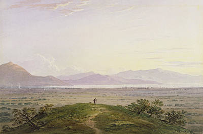 1842 Photograph - The Plains Of Marathon by John Varley