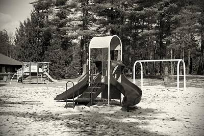 Photograph - The Playground I - Ocean County Park by Angie Tirado