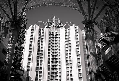 The Plaza Las Vegas  Art Print by Susan Stone