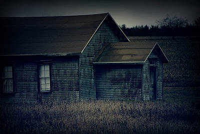 Photograph - The Poor House by Scott Hovind