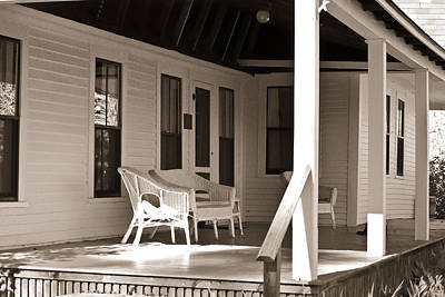 Photograph - The Porch Of Robert Frost by Peggie Strachan