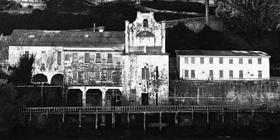 The Port Of Alcatraz Print by Laszlo Rekasi