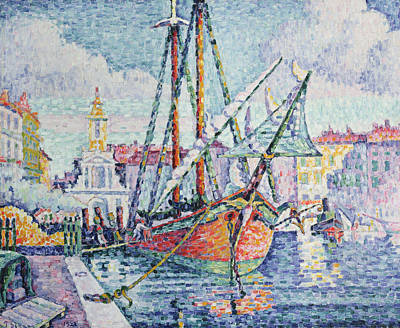 The Port Art Print by Paul Signac