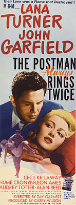 The Postman Always Rings Twice, John Art Print by Everett