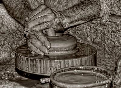 Pottery Photograph - The Potter 2 by Joann Vitali