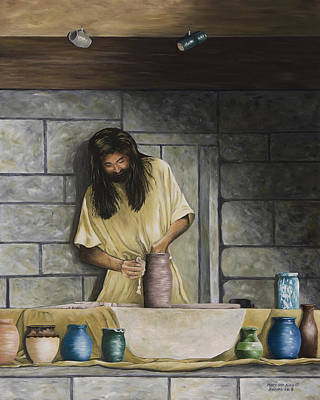 The Potter's House Art Print by Mary Ann King