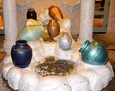 Photograph - The Potter's Seven Vases by Terry Wallace