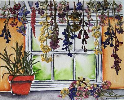 Painting - The Potting Shed II by Regina Ammerman