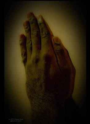 Photograph - The Praying Hands by David Alexander