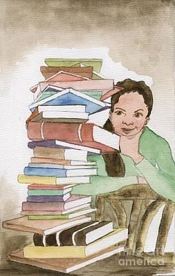 Painting - The Pressure Of Studying by Annemeet Hasidi- van der Leij