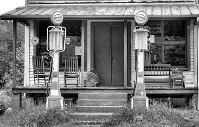 Old Texaco Gas Station Photograph - The Price Was Right by JC Findley