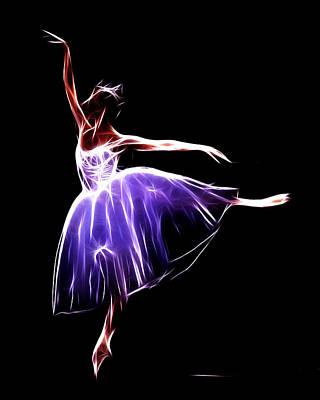 Ballet Dancers Digital Art - The Princess Dancer by Steve K