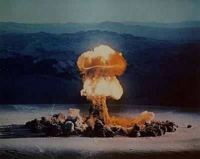 The Priscilla Shot Was A 37 Kiloton Print by Everett