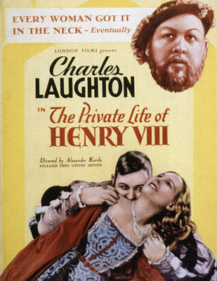 Postv Photograph - The Private Life Of Henry Viii, Charles by Everett