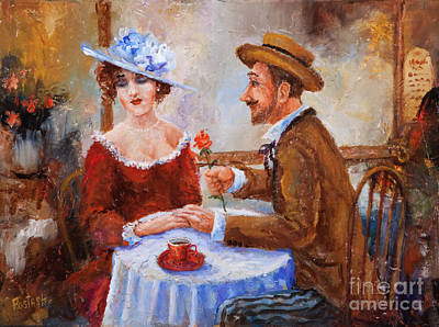Painting - The Proposal by Igor Postash
