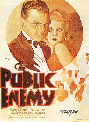 The Public Enemy Art Print by Georgia Fowler