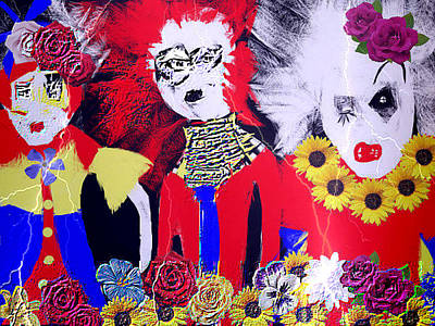 'the Punks 'come Out To Play Print by Rc Rcd