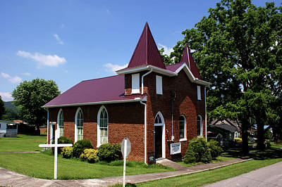 Photograph - The Purple Church by Paul Mashburn