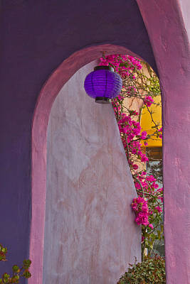 Photograph - The Purple Lantern by Roger Mullenhour