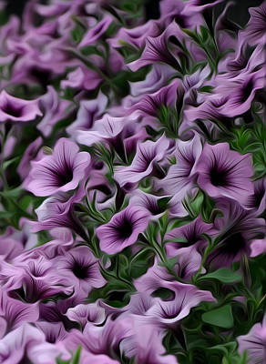 Longwood Gardens Photograph - The Purple Sea by Bill Cannon
