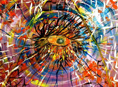 Mixed Media - The Pyramid Eye Of Confuse  by Pretchill Smith