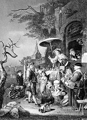 Charlatan Photograph - The Quack, 1652 by Science Source