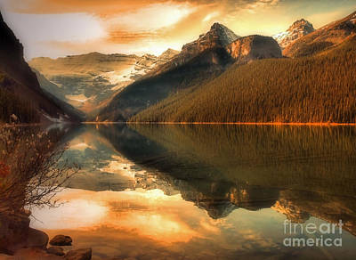 Photograph - The Quiet Golden Glow by Tara Turner