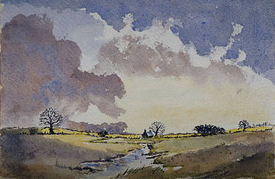 Painting - 'the Quiet Man' Country by Rob Hemphill