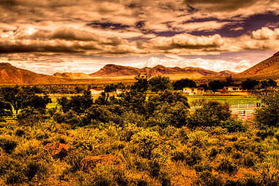 Photograph - The Ranch At The Red Rock Conservation Area by David Patterson