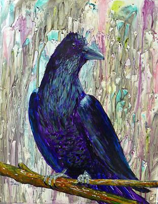 The Raven Waits Art Print