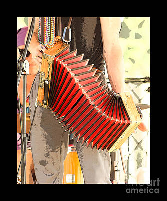 Photograph - The Red Accordian by Margie Avellino