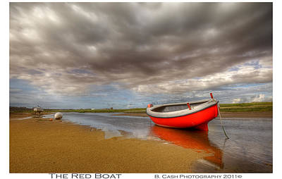 Photograph - The Red Boat by Beverly Cash