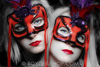 Photograph - The Red Charade by Royce Bishop