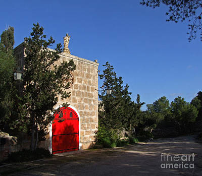 Photograph - The Red Door by Mary Attard