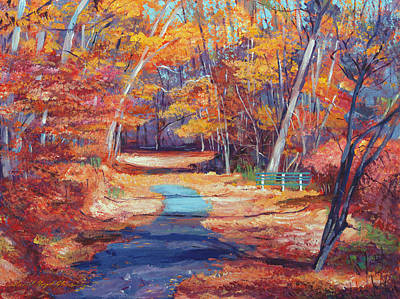 Pathway Painting - The Resting Place by David Lloyd Glover