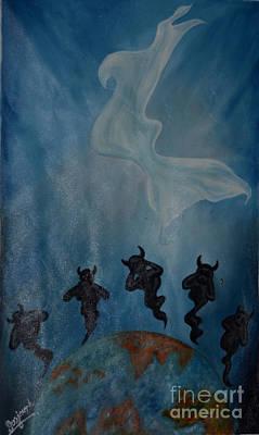 The Resurrection  Of  Jesus .  Original by Jiss Joseph