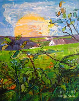 Grafton Ma Painting - The Return by Allison Coelho Picone