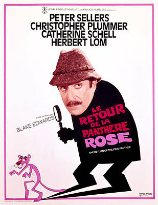Pink Panther Photograph - The Return Of The Pink Panther, Peter by Everett