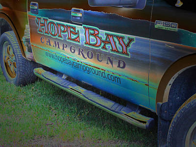 Photograph - The Ride - Hope Bay Campground by Cyryn Fyrcyd